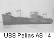 USS Pelias AS 14