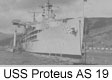 USS Proteus AS 19