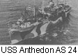 USS Anthedon AS 24