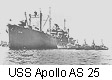 USS Apollo AS 25