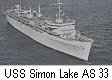 USS Simon Lake AS 33
