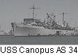 USS Canopus AS 34